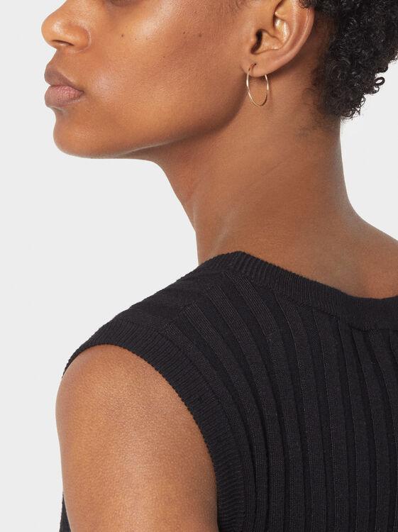 Basic Short Hoop-Earrings, , hi-res