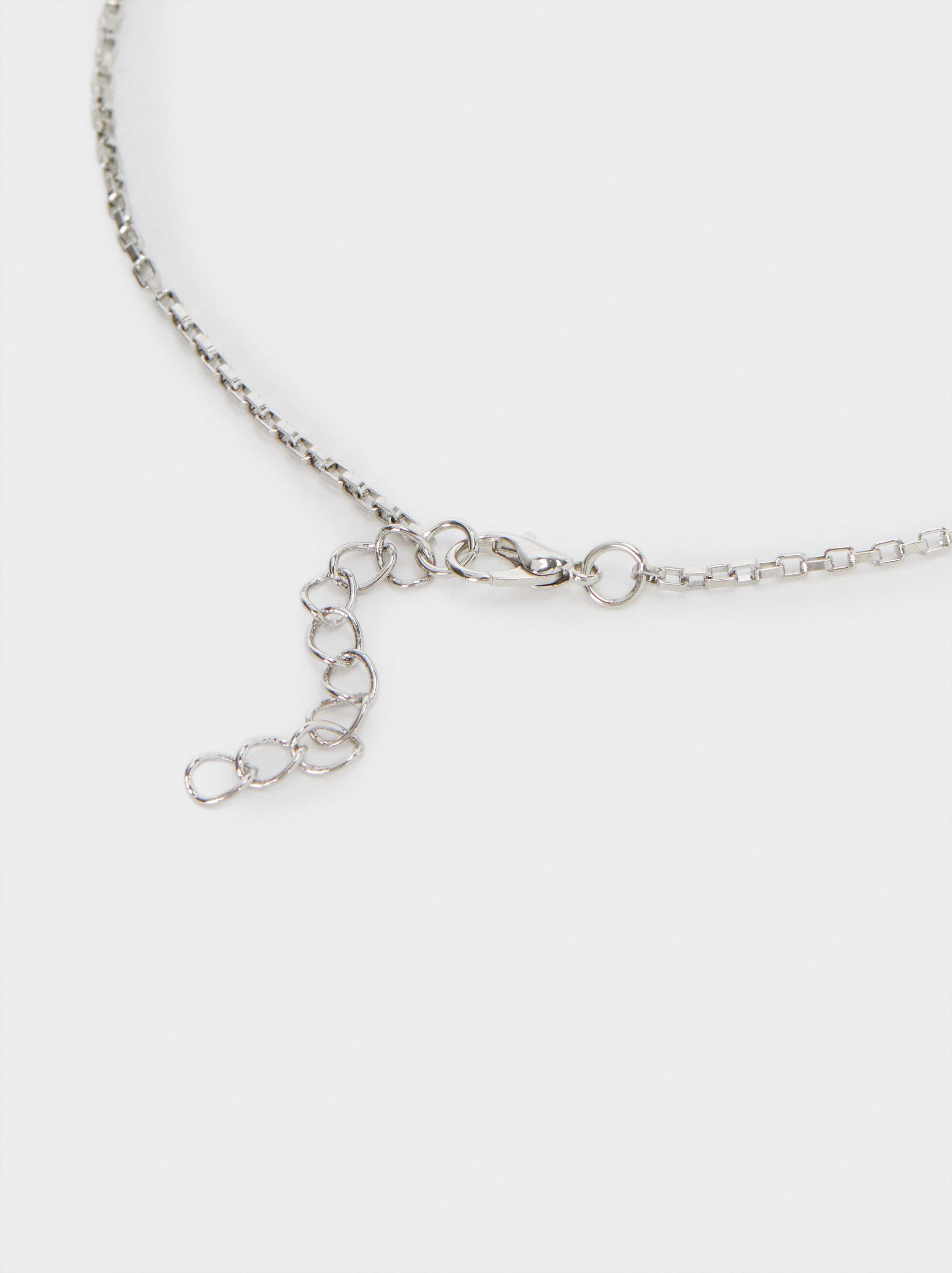 Hoop Fever Necklace Set, Silver, hi-res