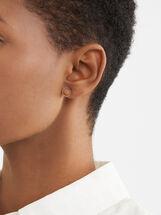 Short Steel Earrings, , hi-res