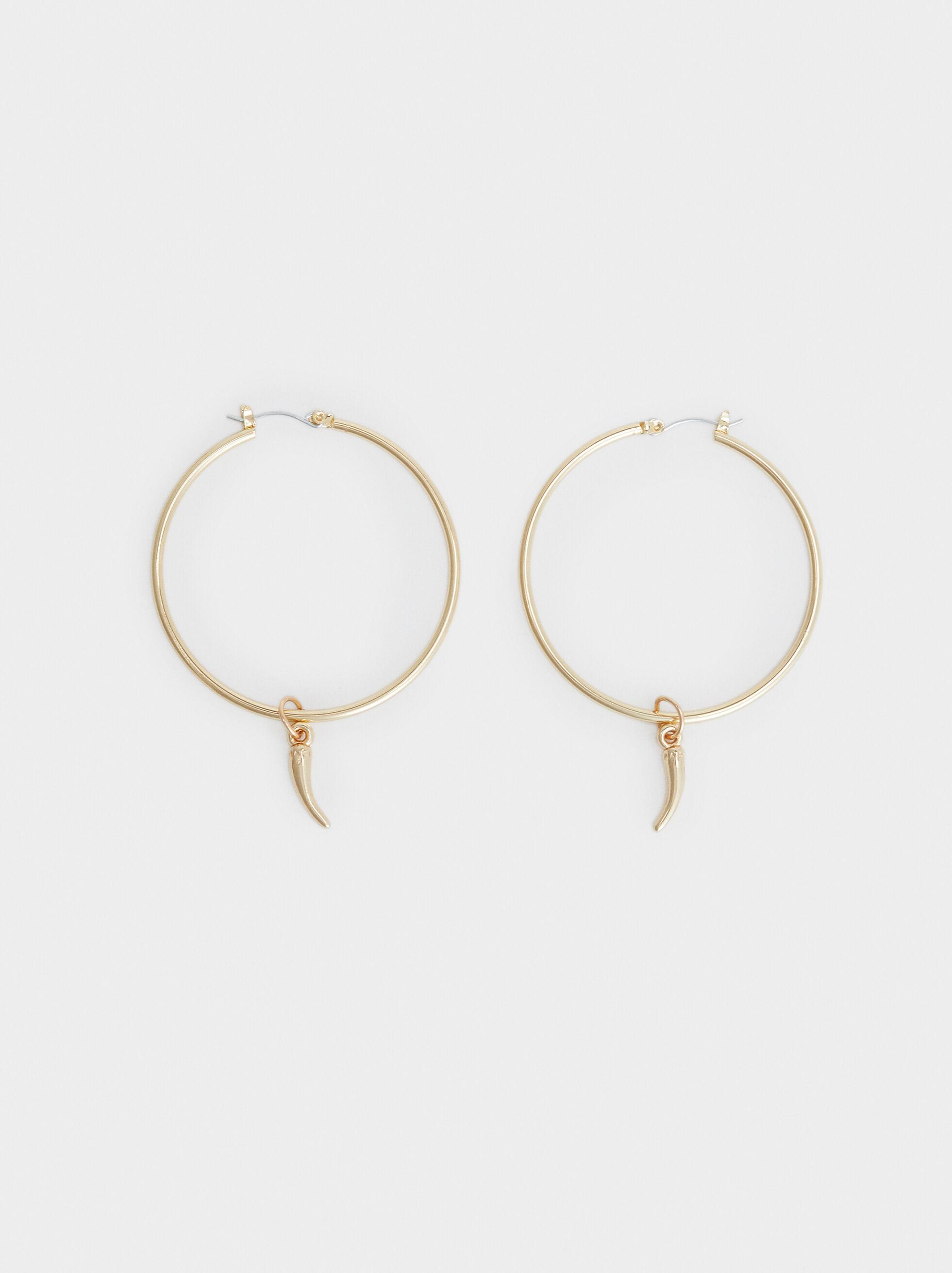 Hoop Fever Large Hoop Earrings, , hi-res