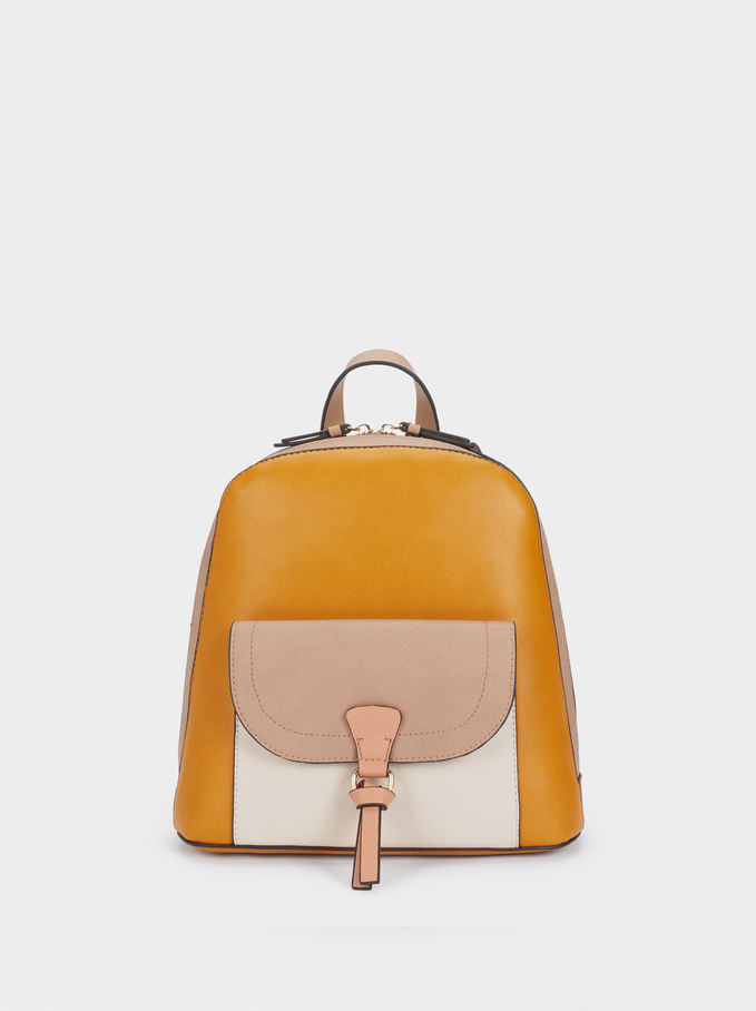 Lotus Backpack, Mustard, hi-res