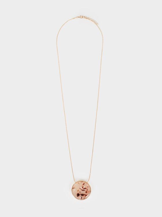Land Long Necklace With Pendant, Multicolor, hi-res