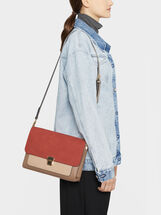 Embossed Shoulder Bag, , hi-res