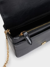 Wavy Party Clutch, Black, hi-res