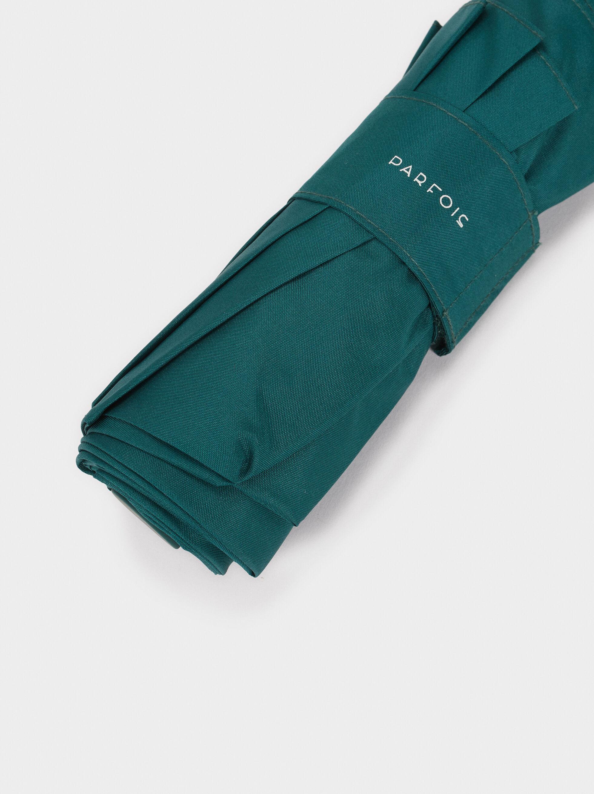 Small Folding Umbrella , Green, hi-res