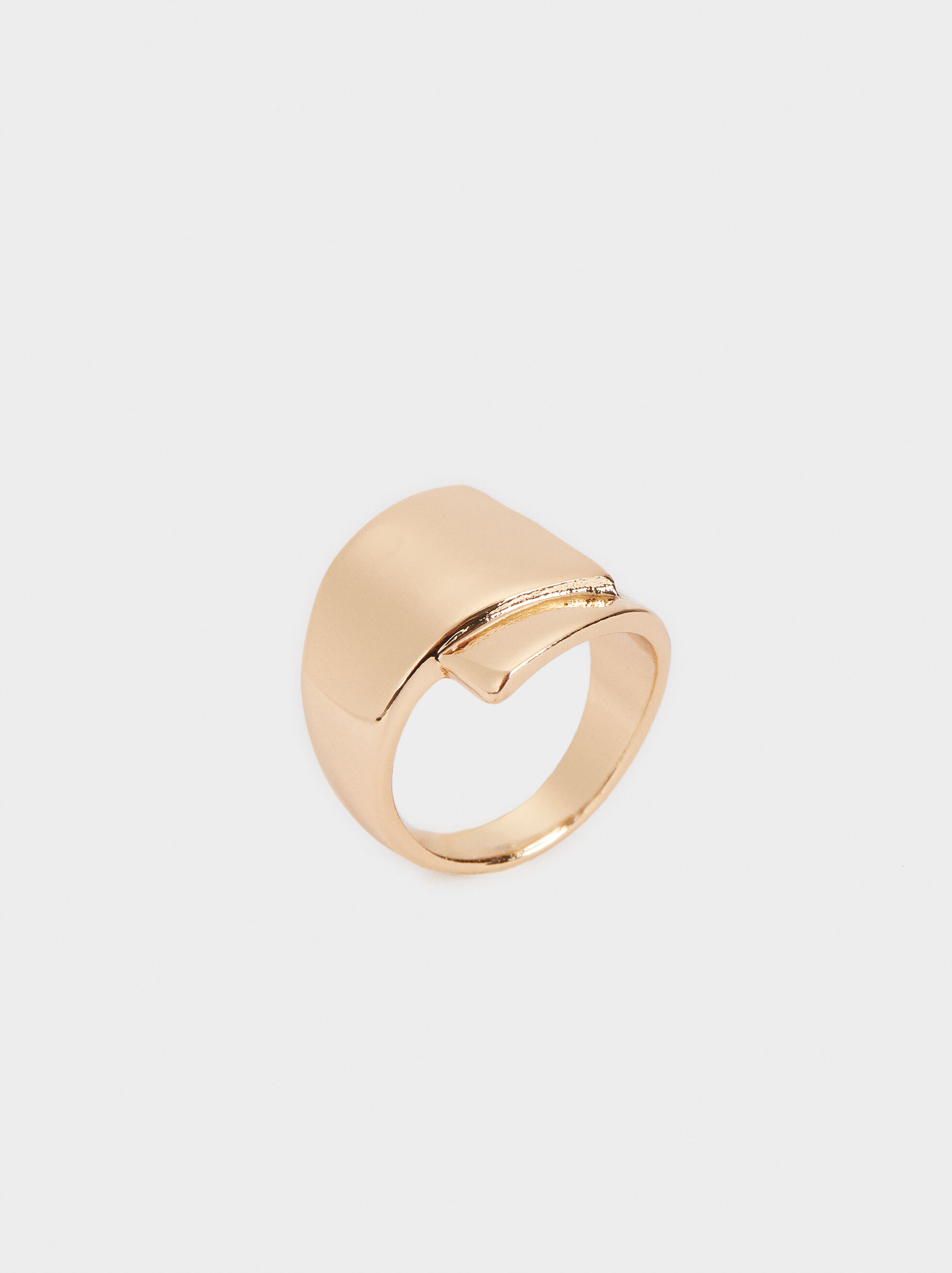Gold-Toned Ring, , hi-res