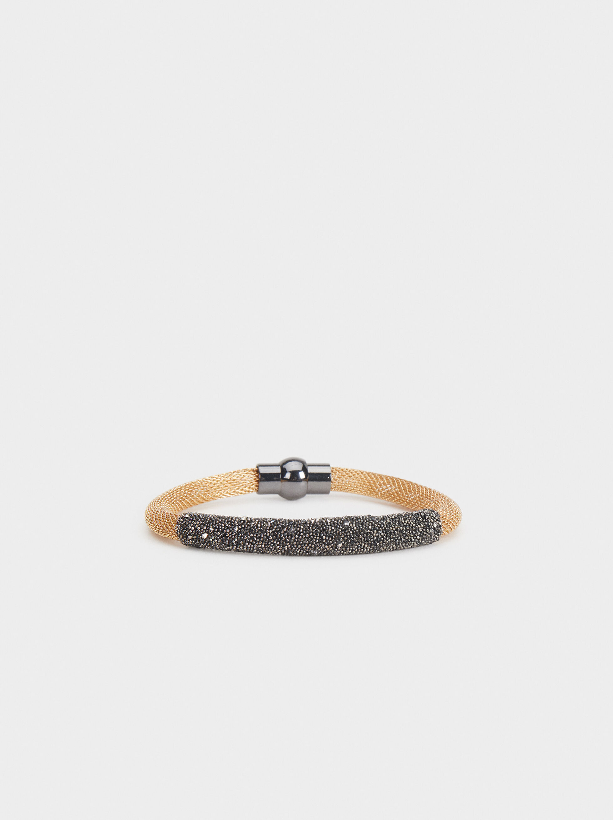 Rhinestone Bracelet, Multicolor, hi-res