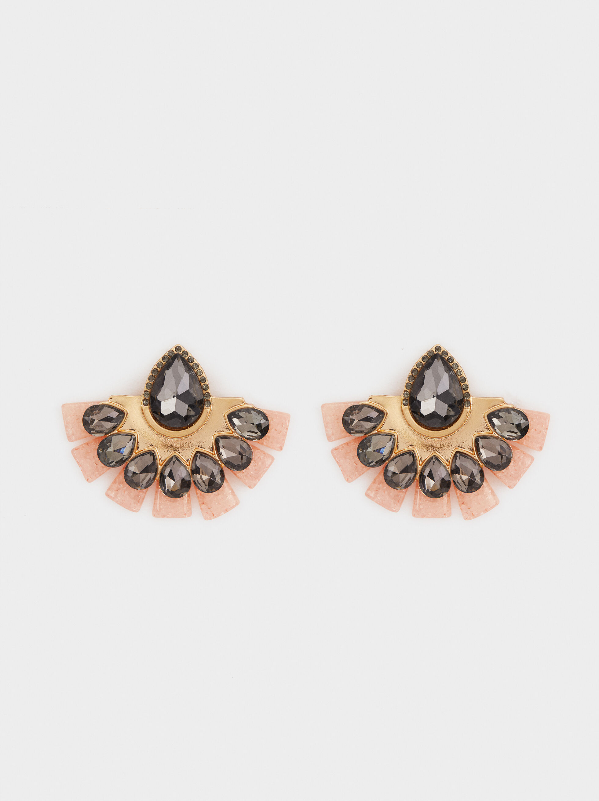 Exclusive Collection Short Earrings, Pink, hi-res