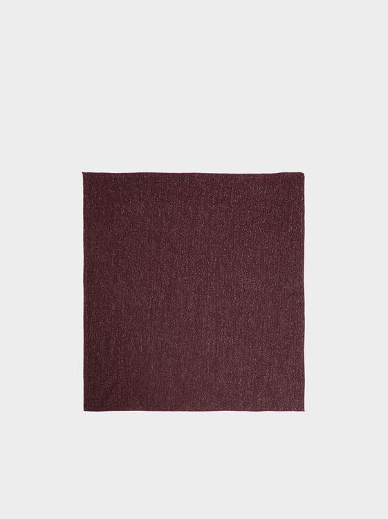 Headband With Shimmer Thread, Bordeaux, hi-res