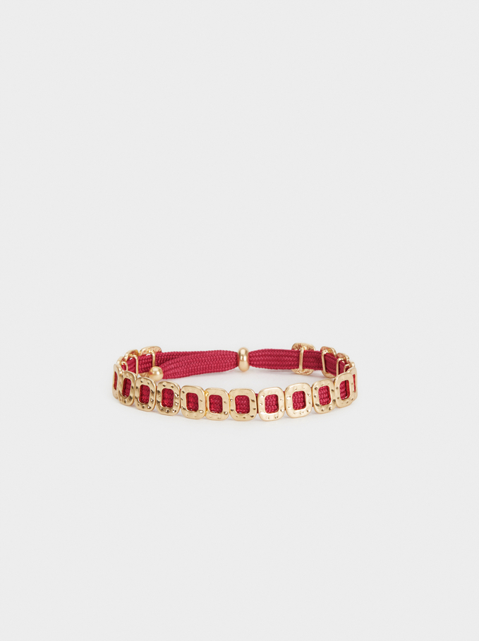Animal Fever Adjustable Bracelet, Pink, hi-res