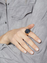 Savage Sparkle Stone Ring, Blue, hi-res