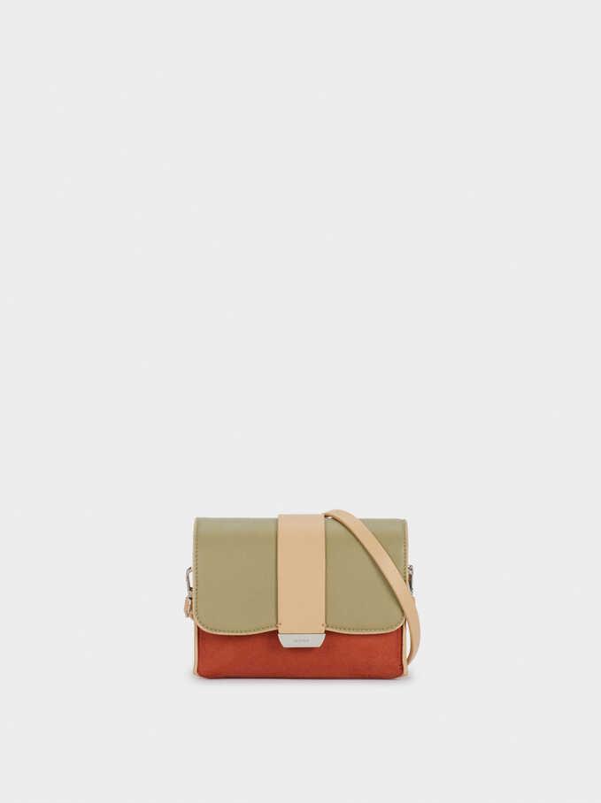 Crossbody Belt Bag, Beige, hi-res