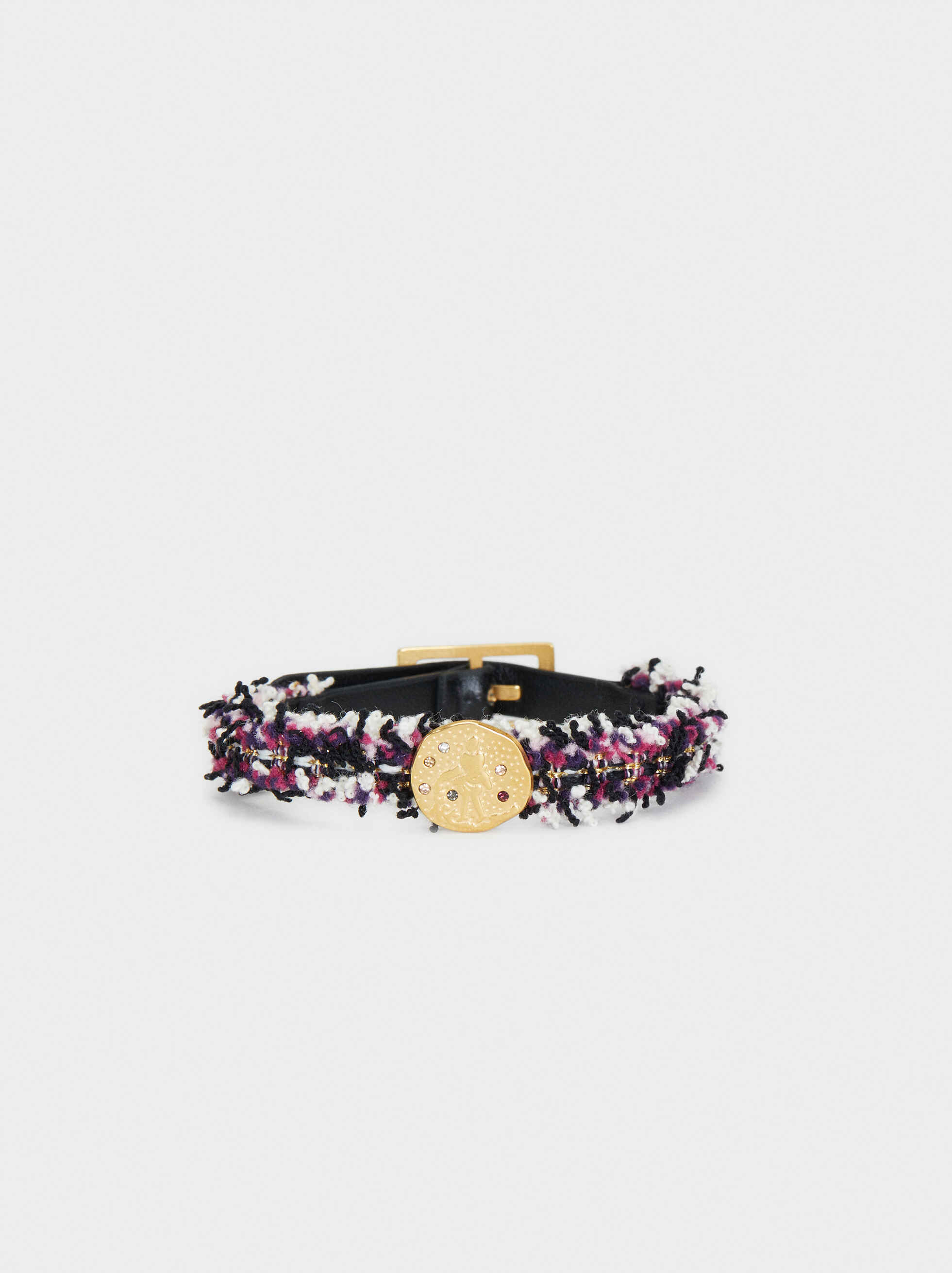 Stainless Steel Gold Bracelet, Multicolor, hi-res