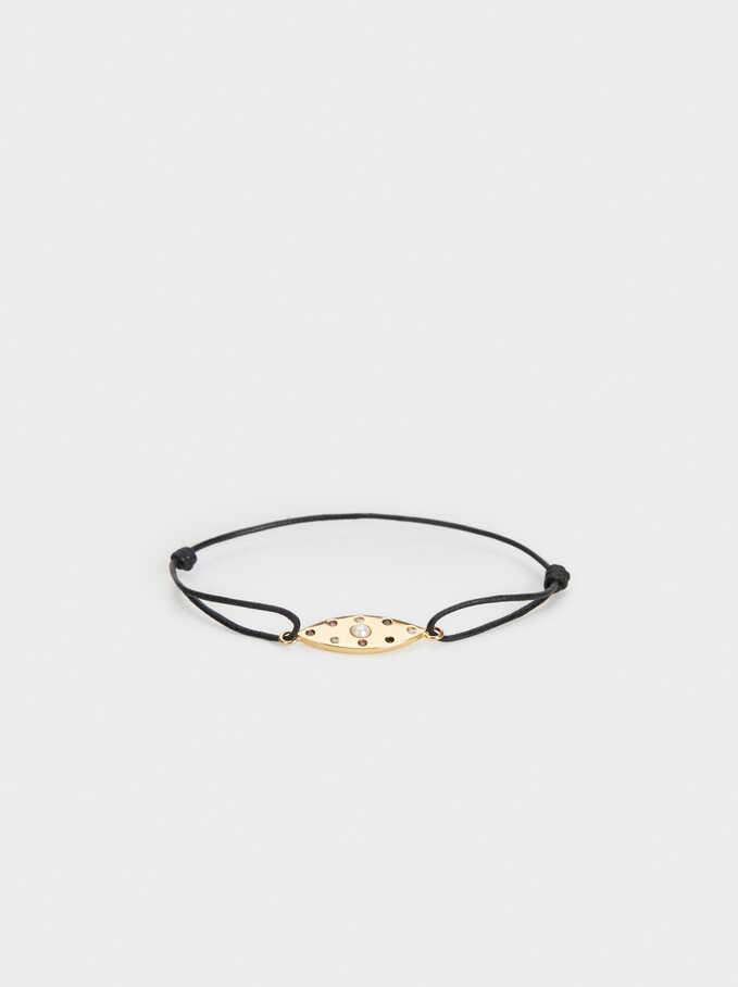 925 Silver Adjustable Bracelet With Zirconia, Multicolor, hi-res