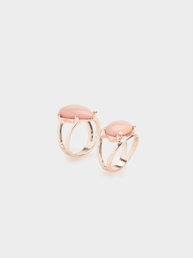 Pink Desert Ring, Pink, hi-res
