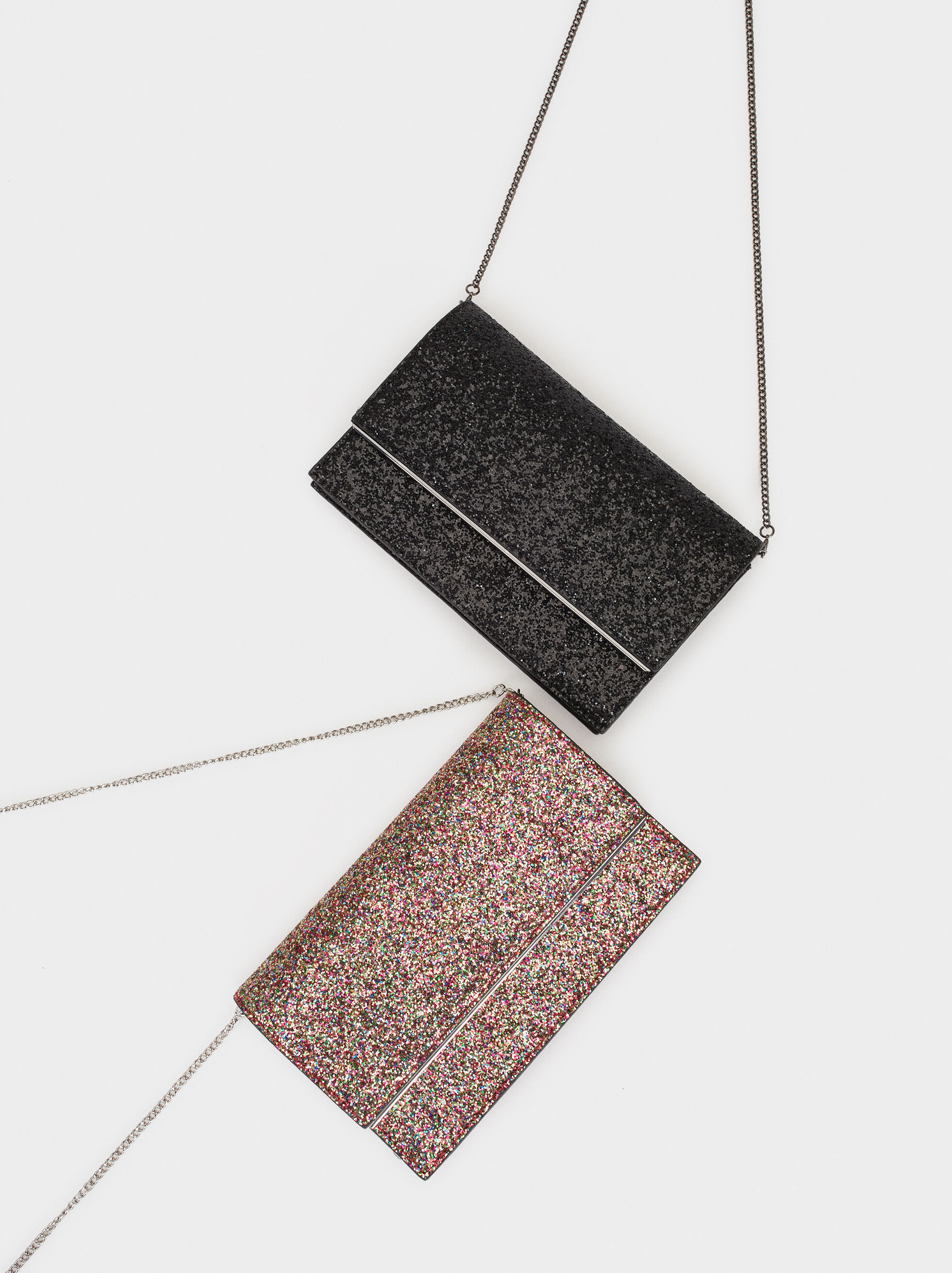 Glitter Party Clutch, , hi-res