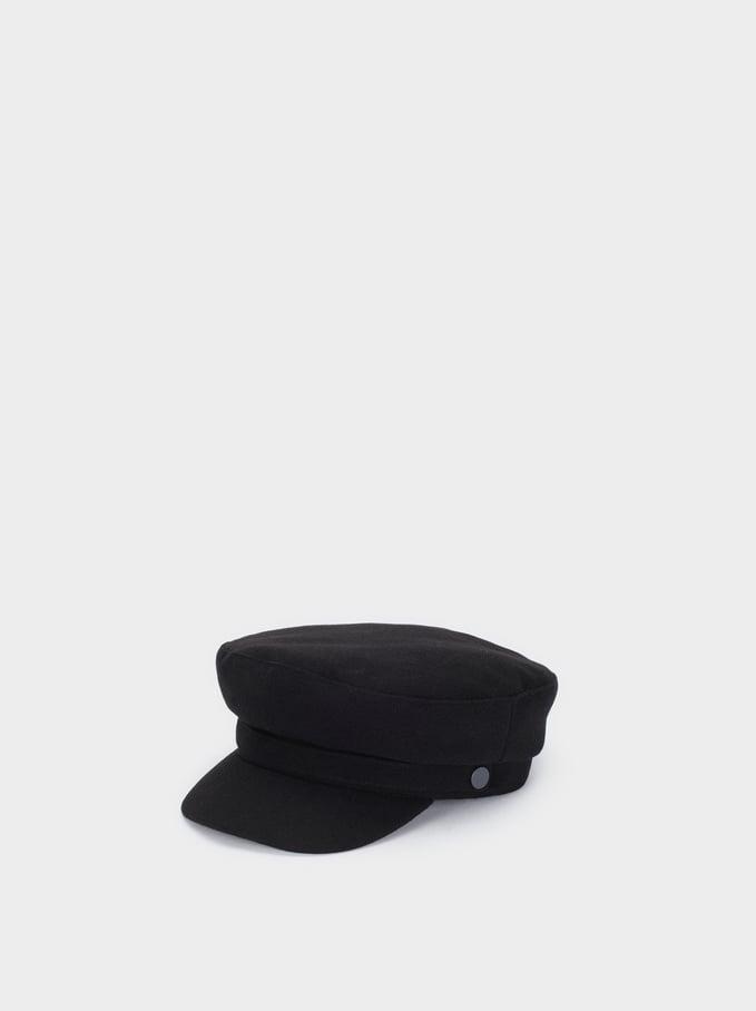 Sailor Cap, Black, hi-res