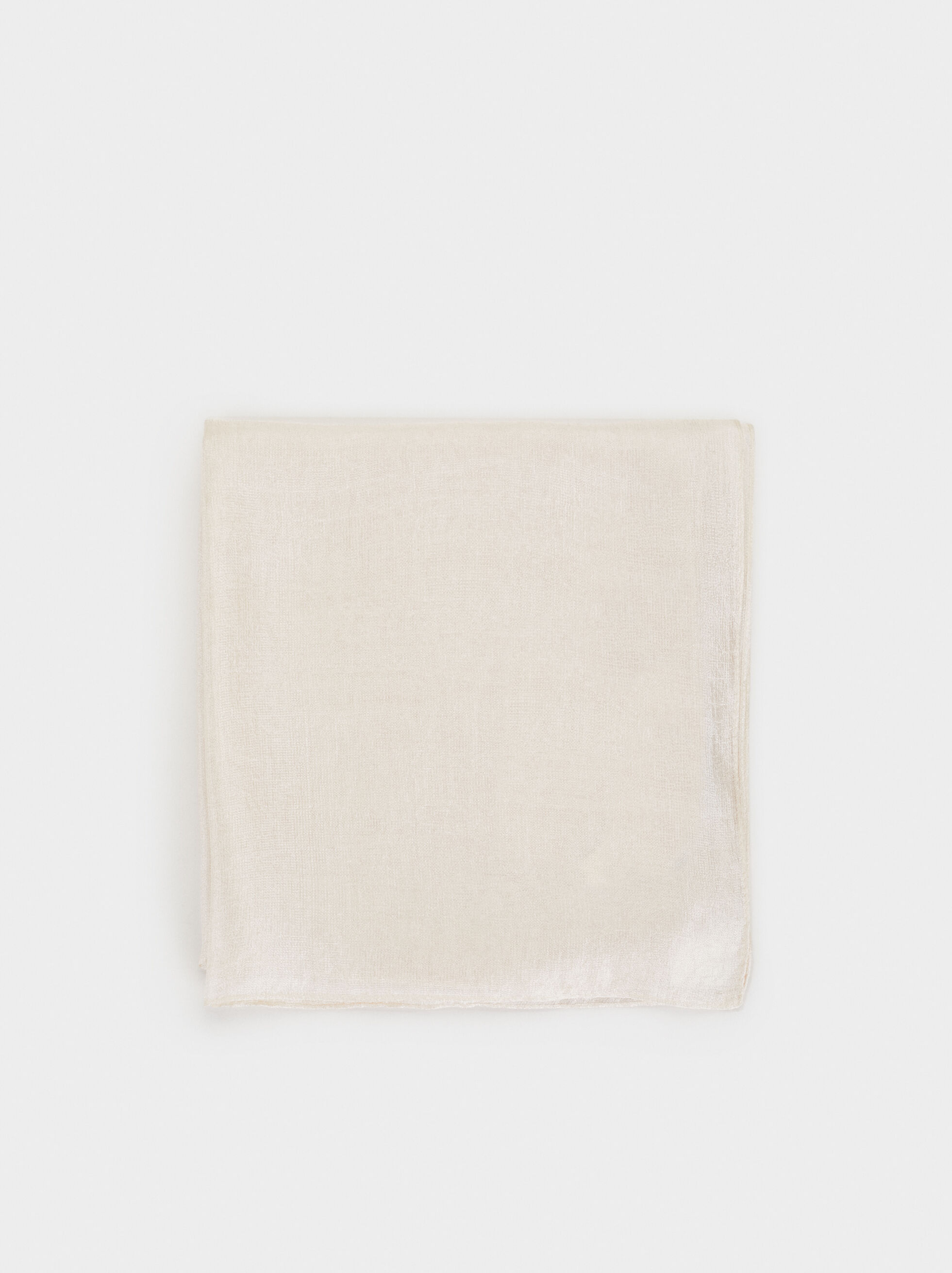 Satin Finish Pashmina, , hi-res