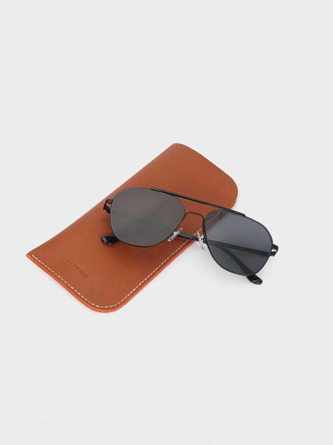 Gafas De Sol De Aviador, Negro, hi-res