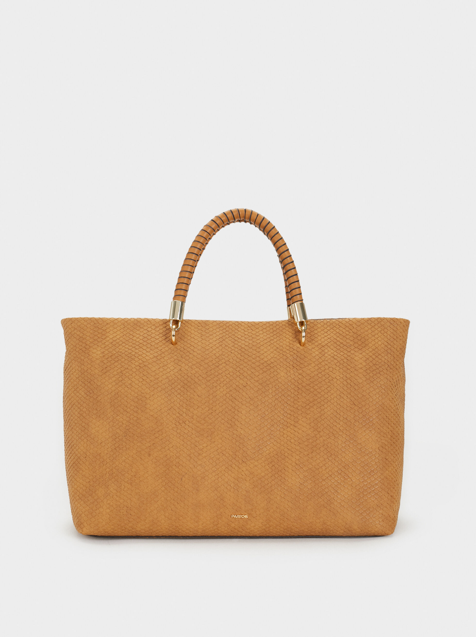 Faux Snakeskin Tote Bag, , hi-res