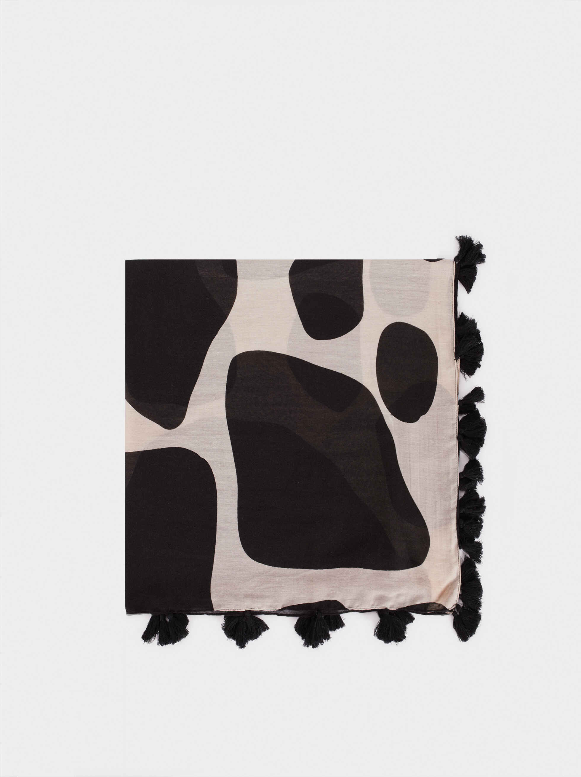 Animal Print Scarf, , hi-res