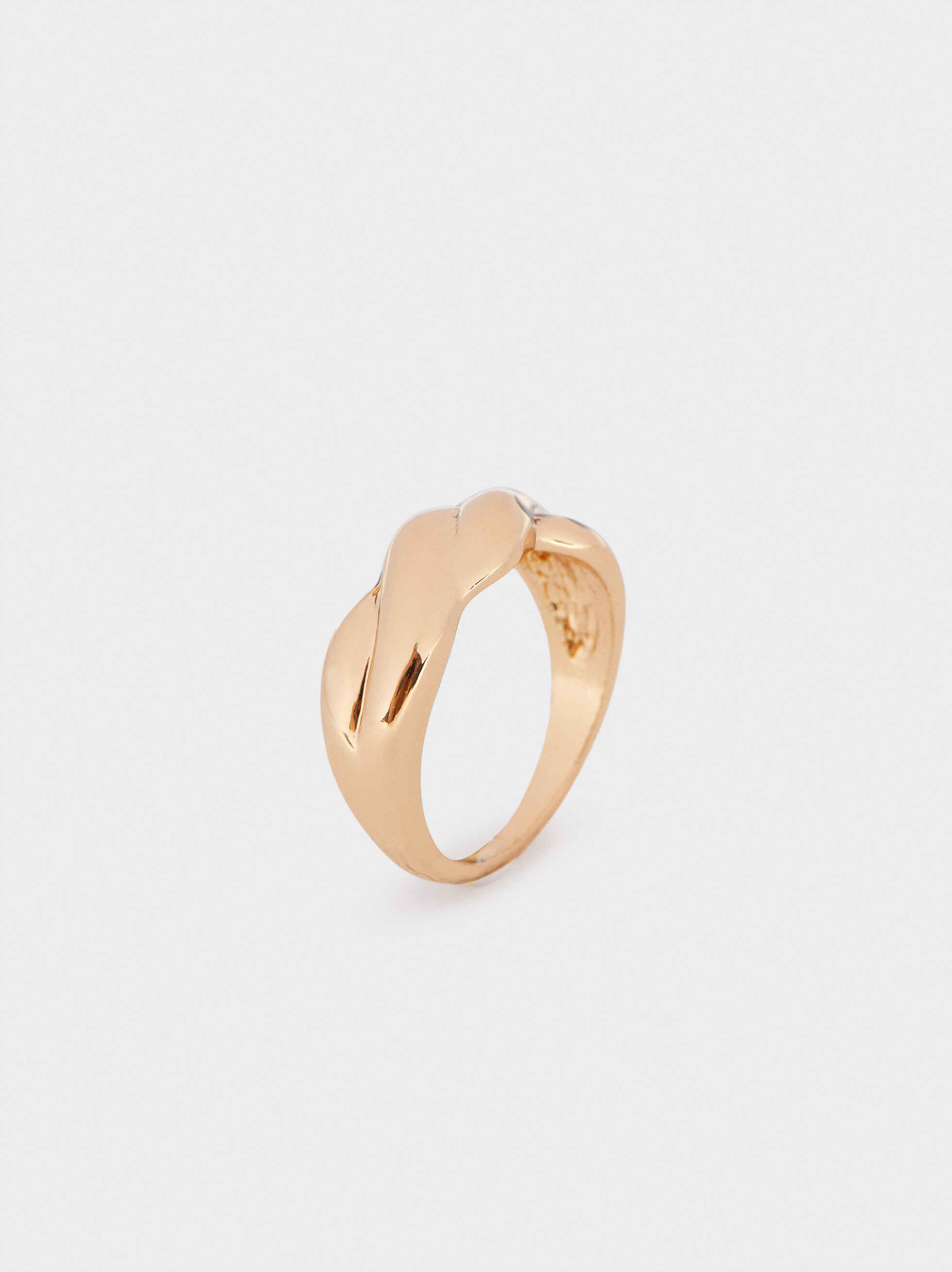 Gold Braided Ring, , hi-res