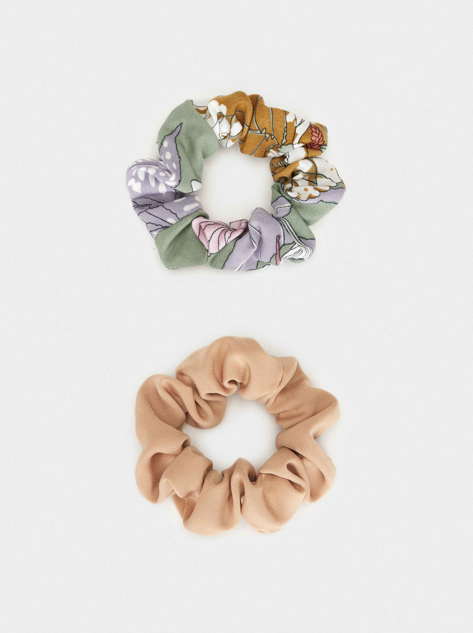 Scrunchie Set, Multicolor, hi-res