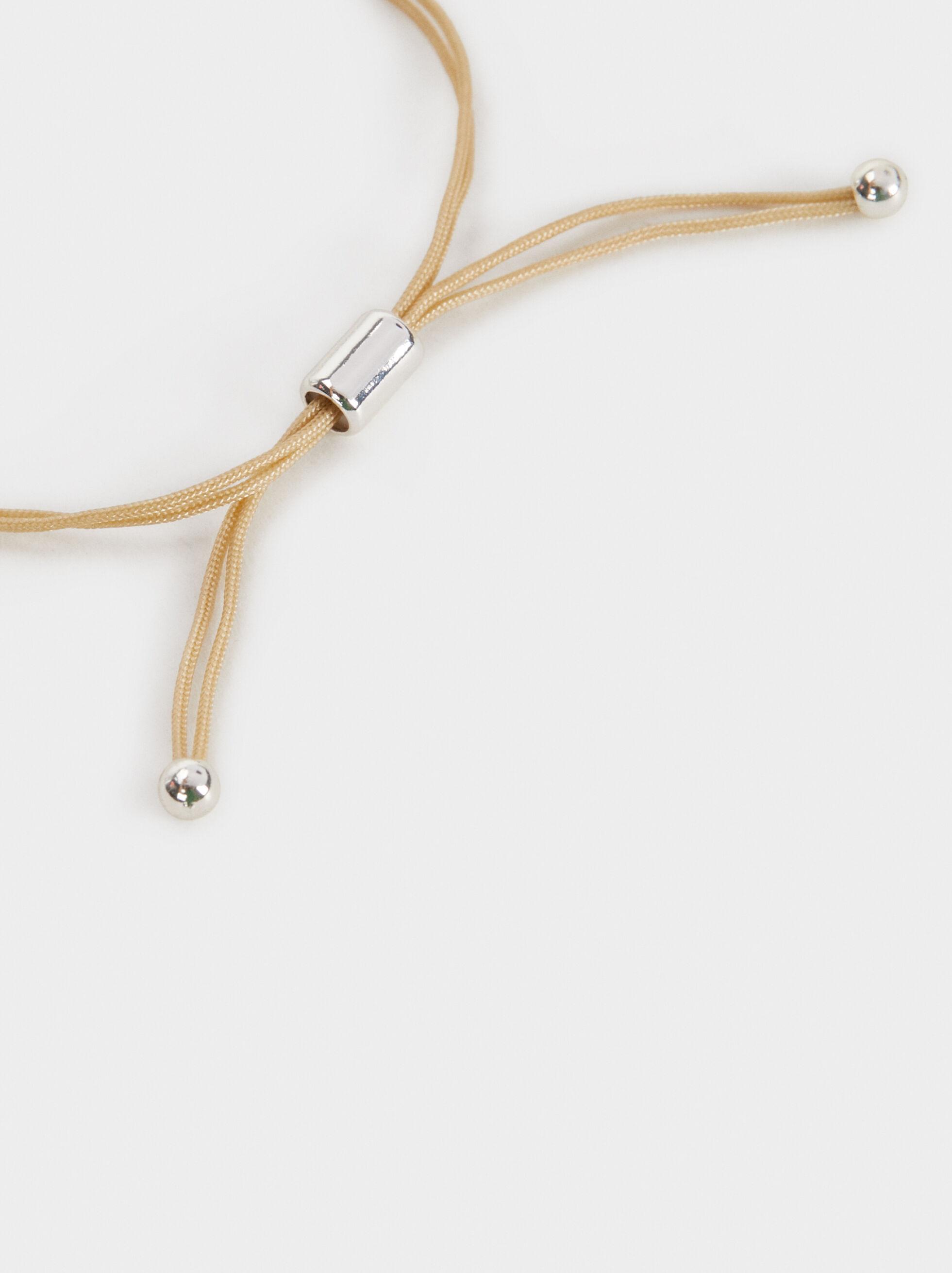 Adjustable Magnolia Circle Bracelet, Blue, hi-res