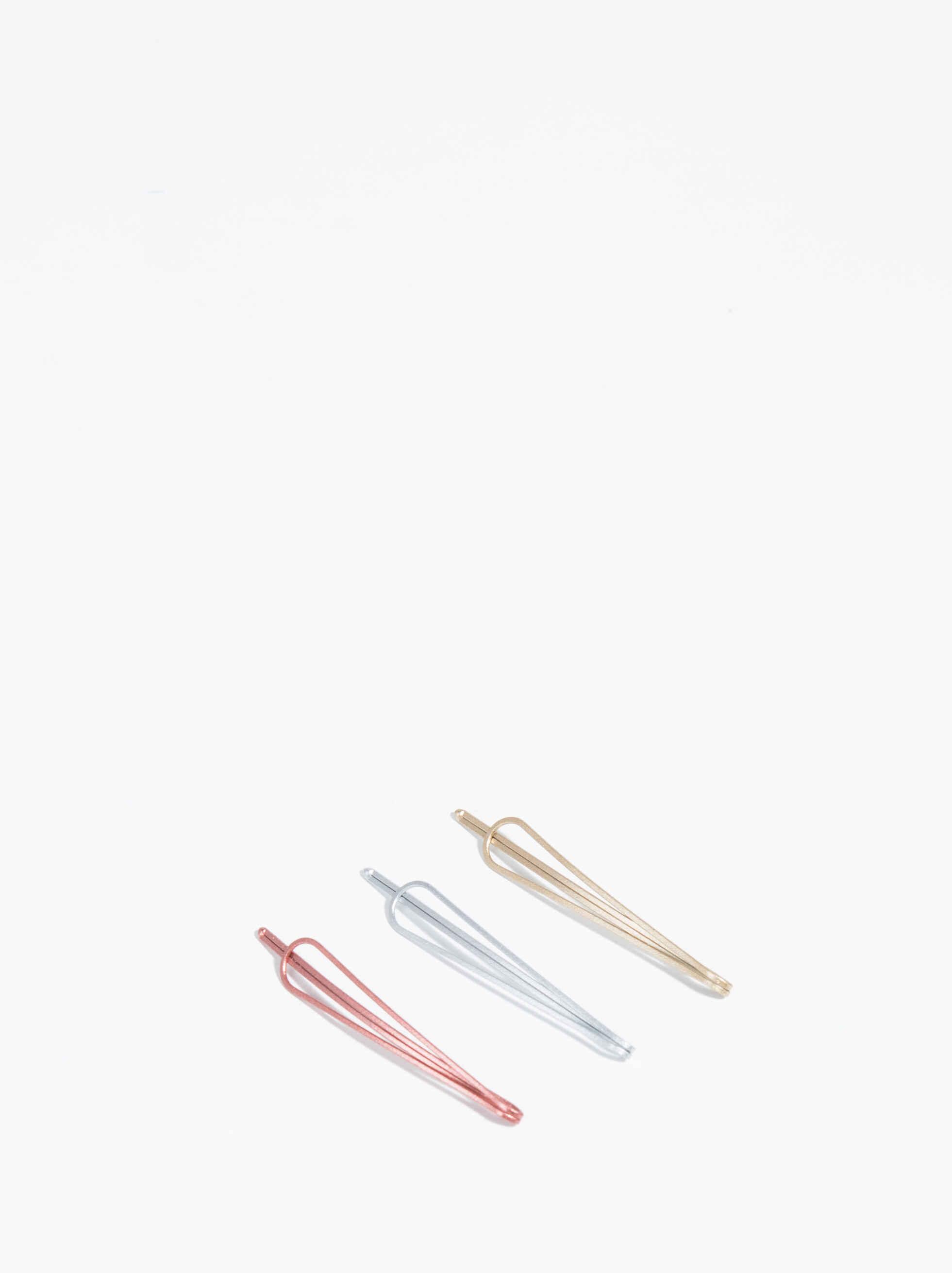 Basic Hair Clip Set, Multicolor, hi-res