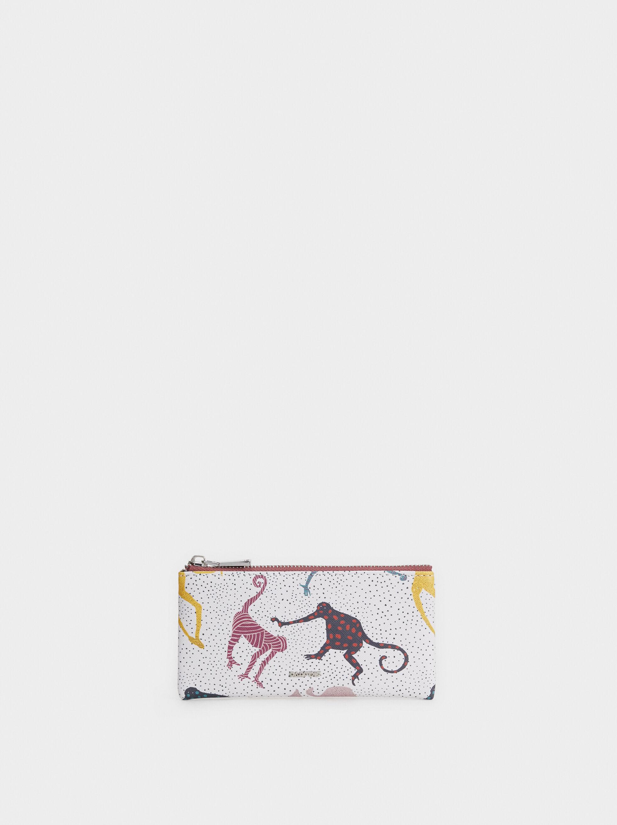 Monkey Print Multipurpose Bag, , hi-res