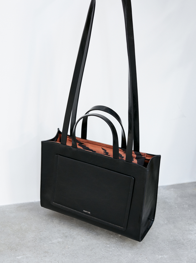 Kira2 Tote Bag, Black, hi-res
