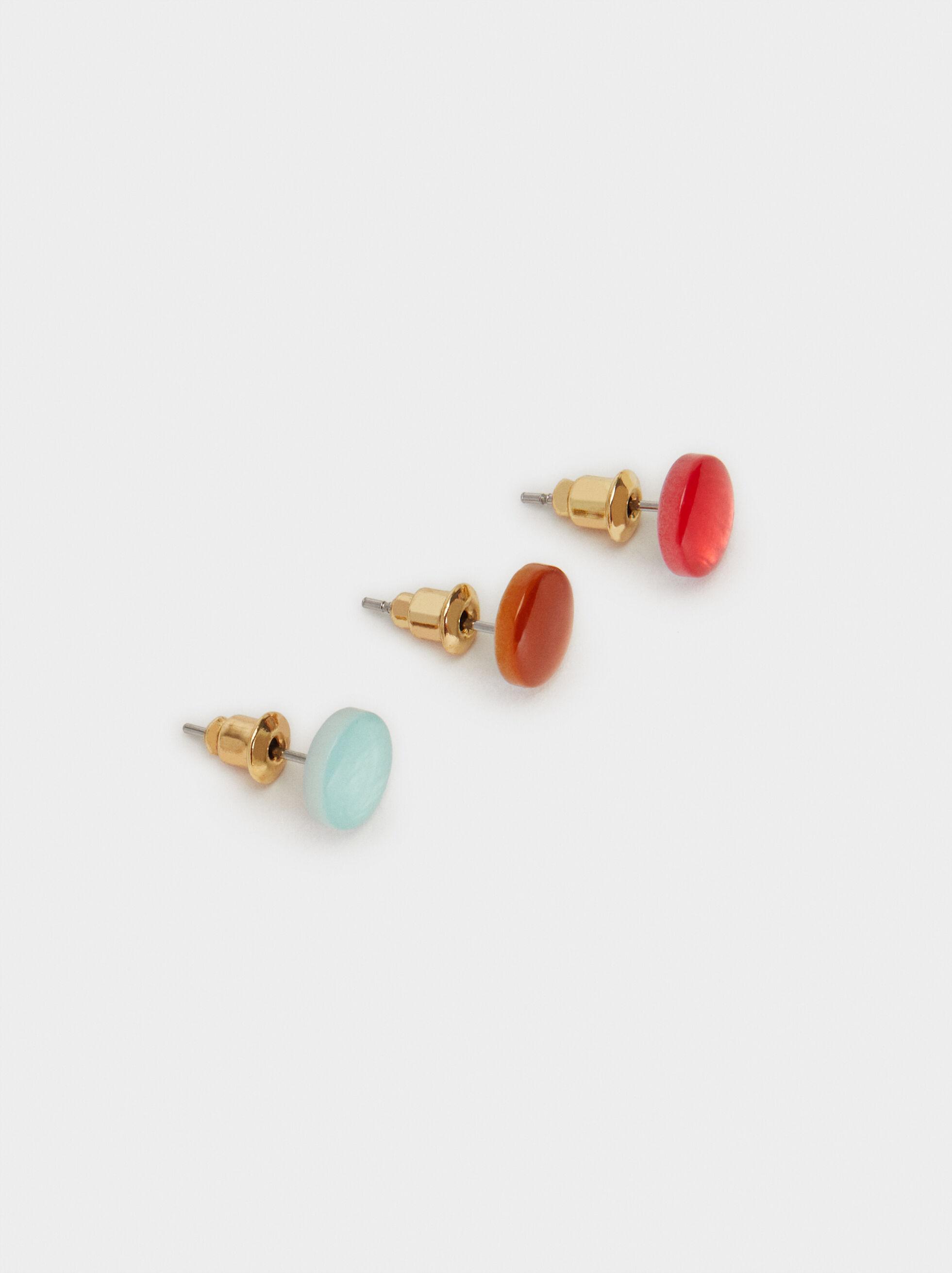 Cherry Blossom Set Of Earrings