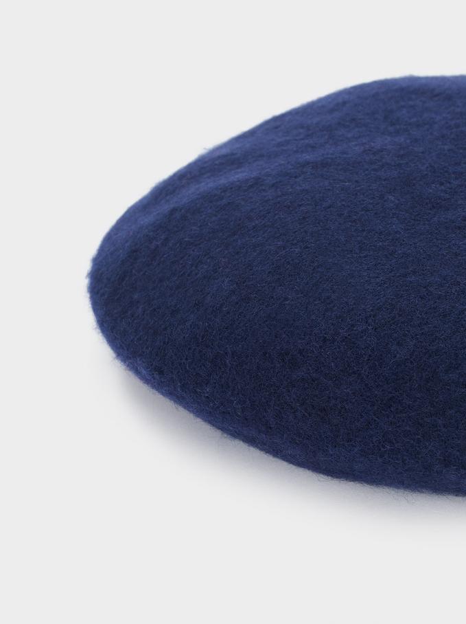 Boína De Lana, Azul Marino, hi-res