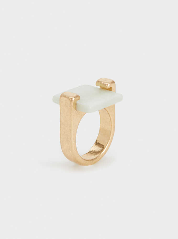 Sorbet Ring, Green, hi-res