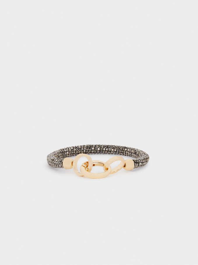 Bracelet With Crystals, Multicolor, hi-res