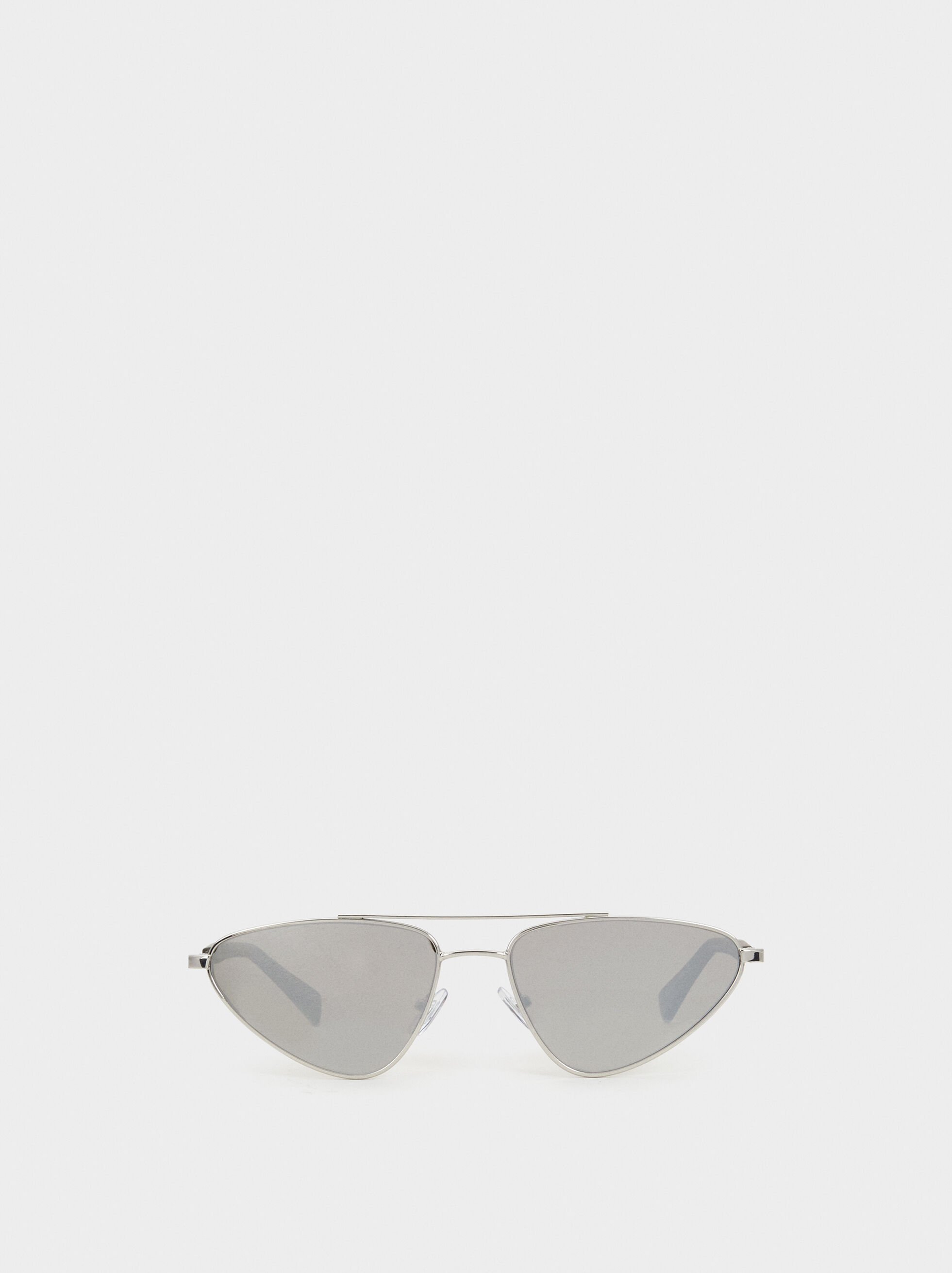 Here And Now Sunglasses, Silver, hi-res