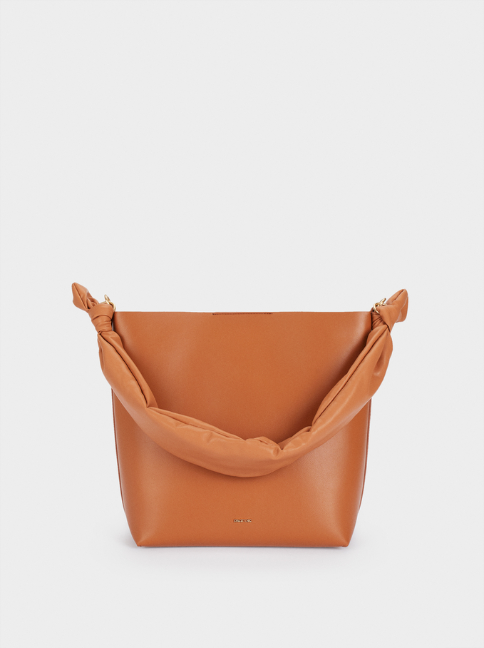 Two-Way Crossbody Bag, Camel, hi-res