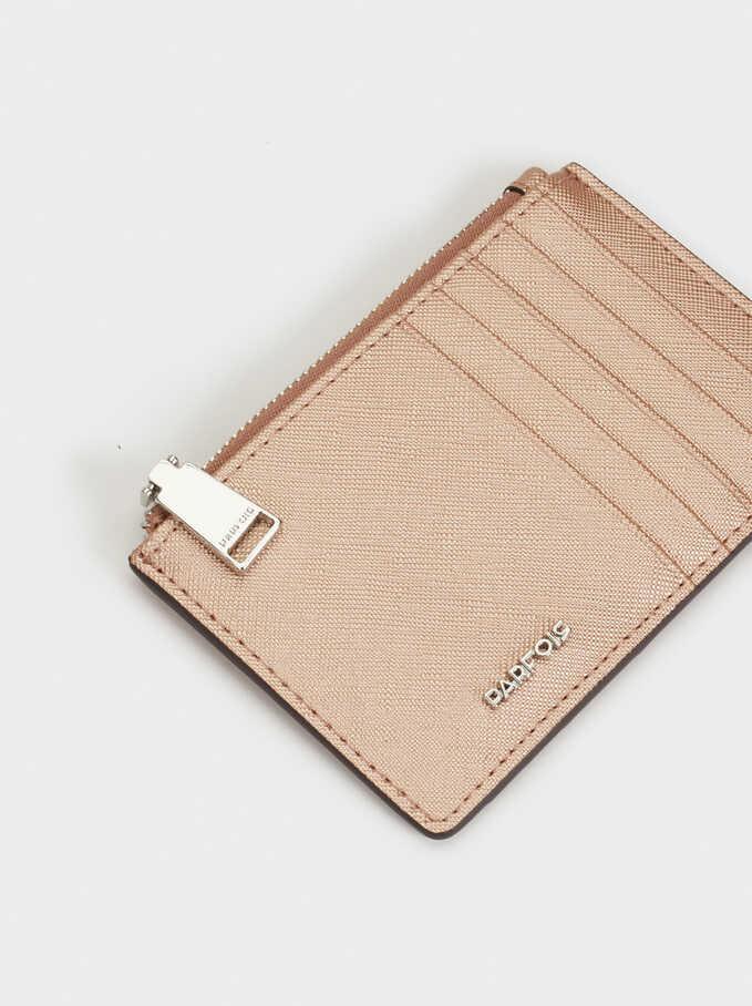 Basic Bill Cardholder, Orange, hi-res