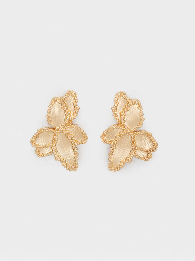 Exclusive Collection Medium Earrings, Golden, hi-res