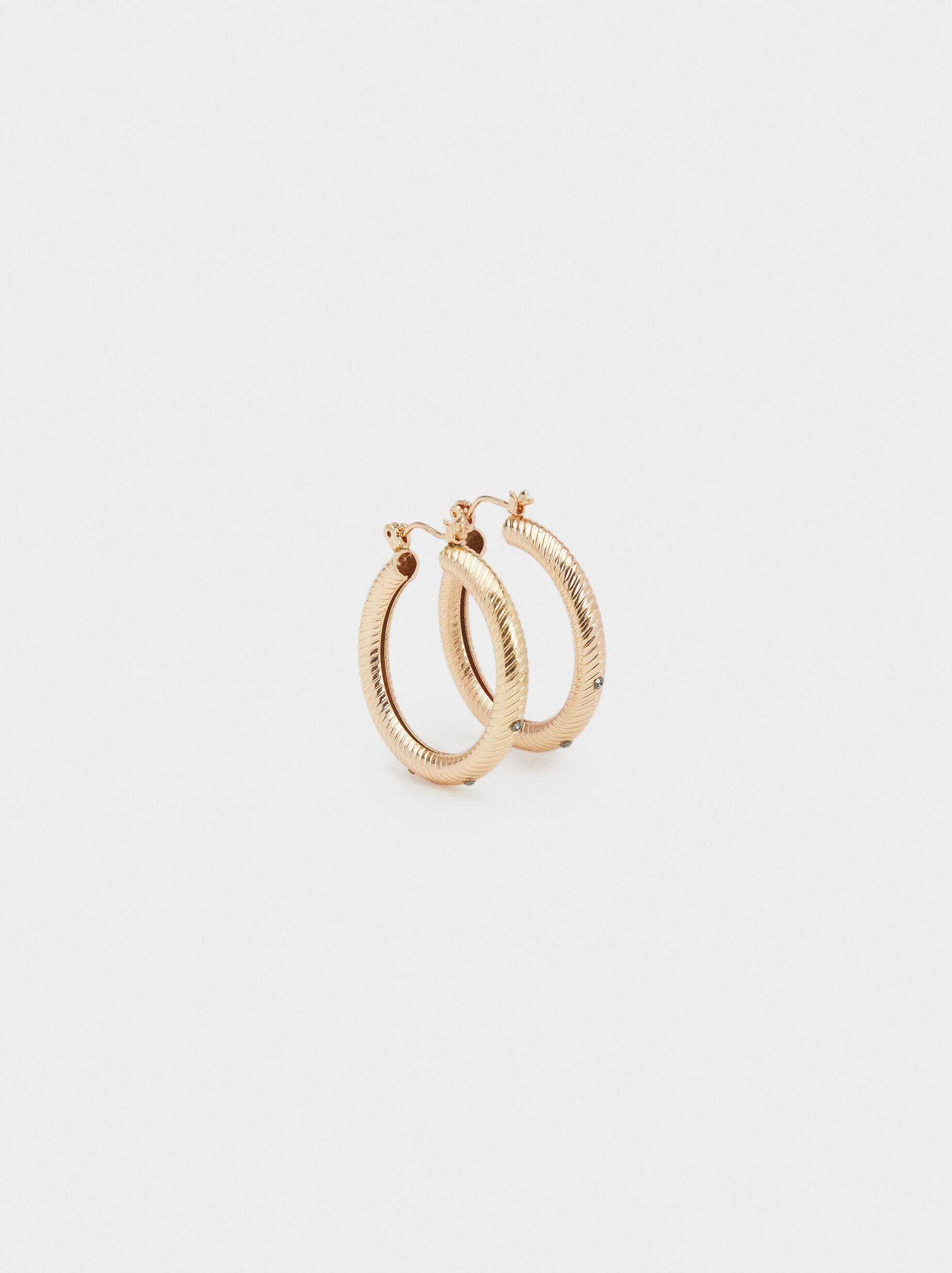 Basic Small Hoop Earrings, , hi-res