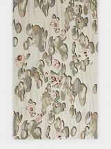 Pañuelo Estampado Floral, Gris, hi-res