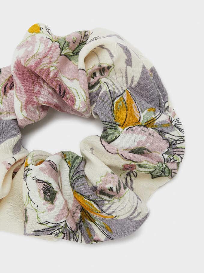 Coletero Estampado Floral, Multicor, hi-res