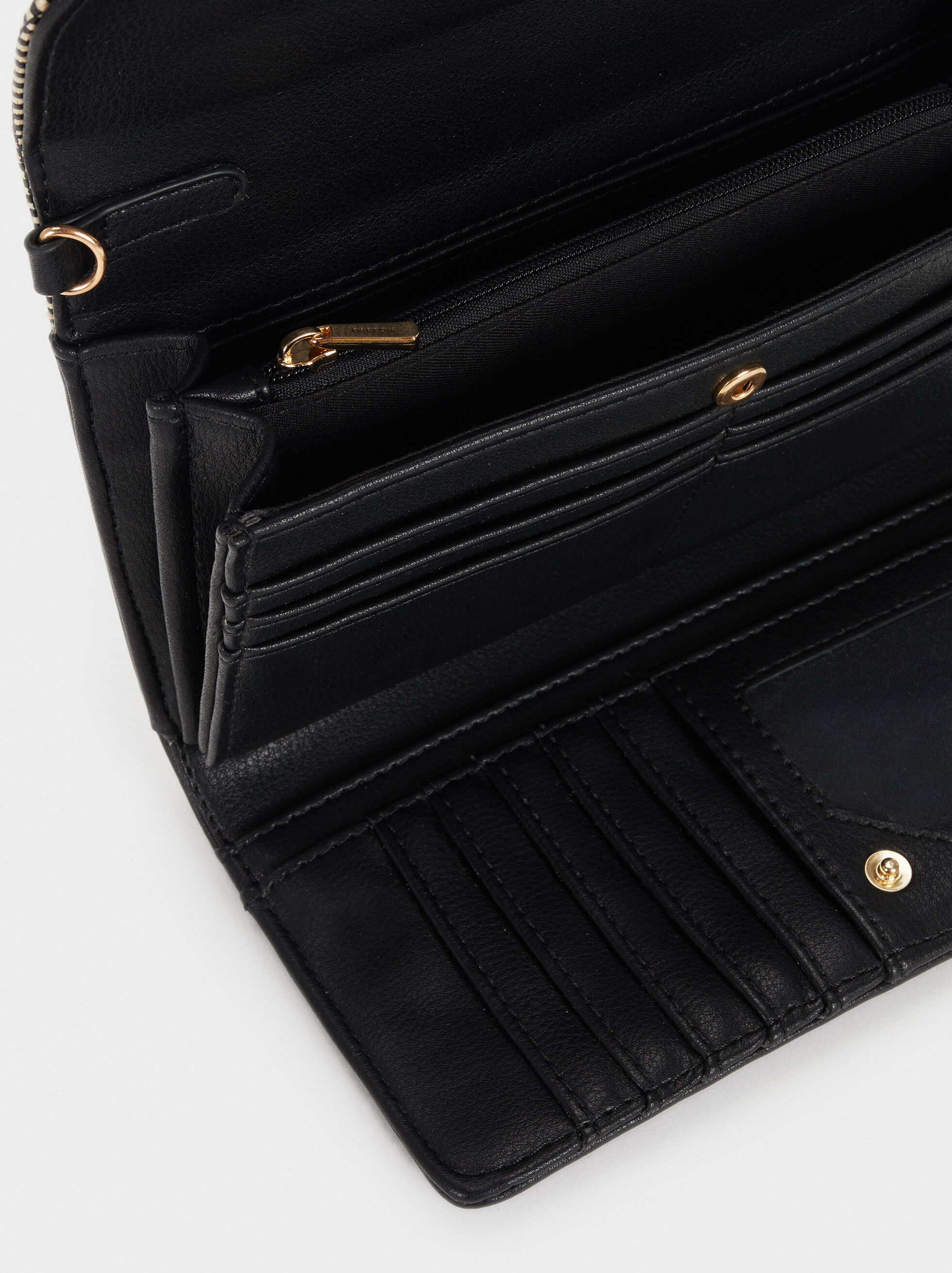 Elisa Wallet, Black, hi-res