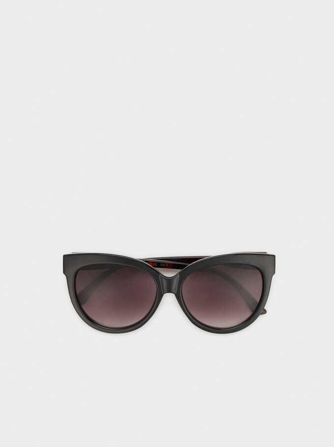 Gafas De Sol De Pasta, Negro, hi-res