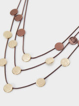 Blog Triple Short Necklace, Multicolor, hi-res