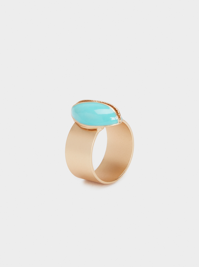 Shell Ring, Blue, hi-res