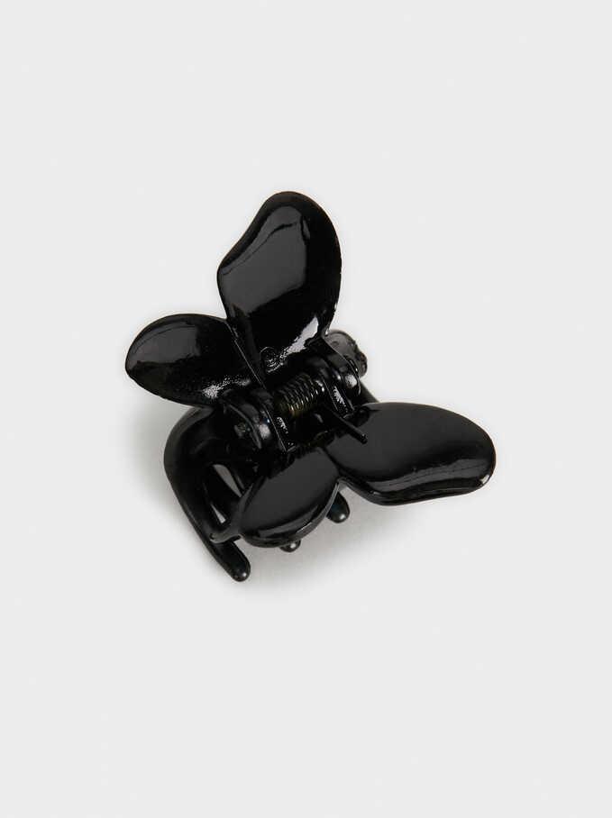 Basic Hair Clip , Black, hi-res