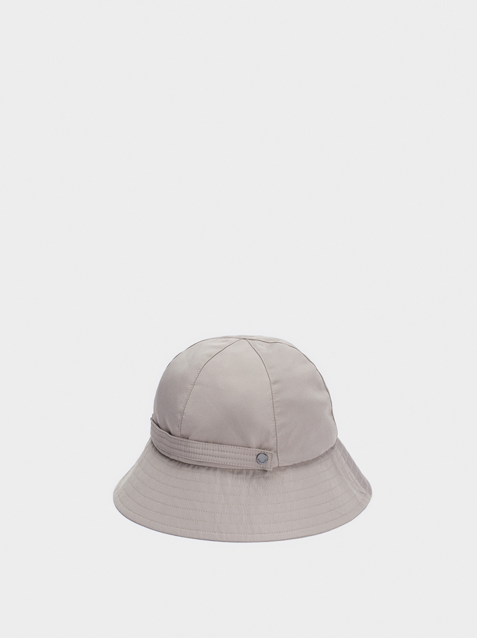 Waterproof Rain Hat, Grey, hi-res