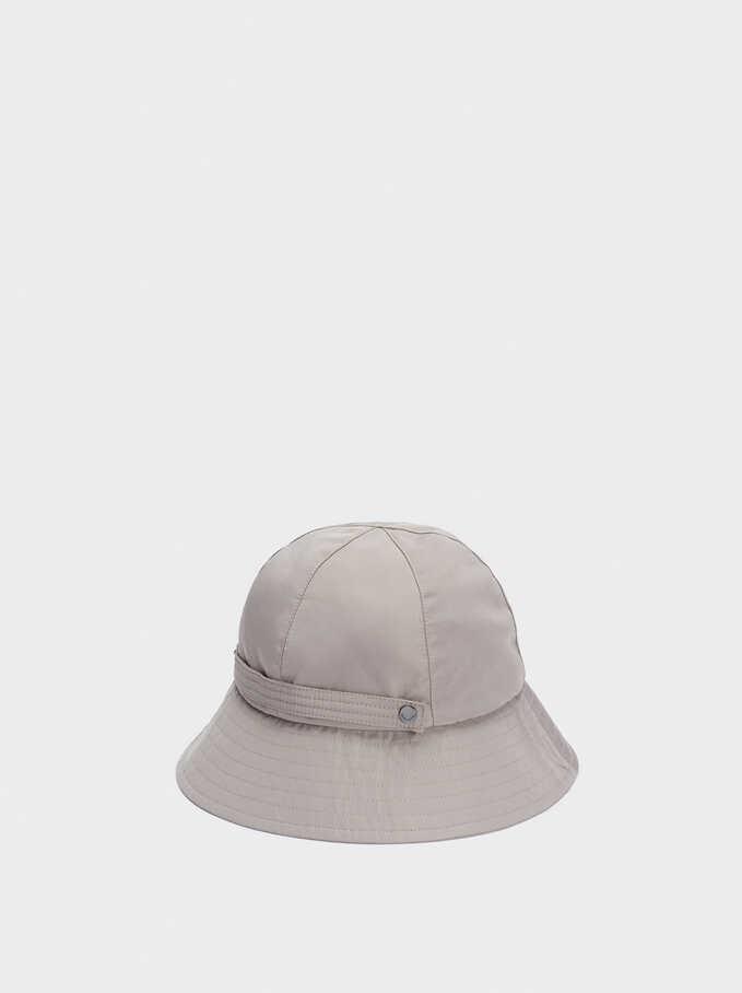 Waterproof Rain Hat, Grey, hi-res