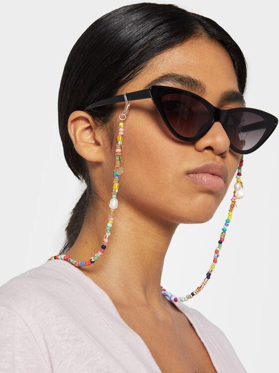 Beaded Glasses Cord, Multicolor, hi-res